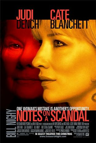 Notes on a Scandal (2006) poster
