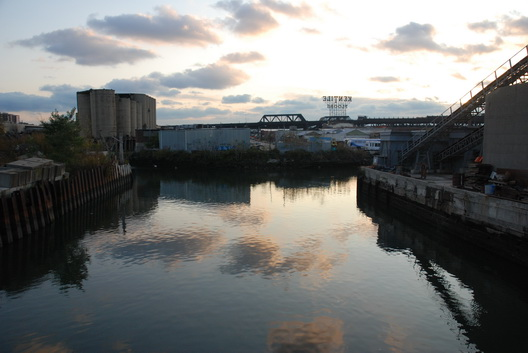 Sunset on the Gowanus