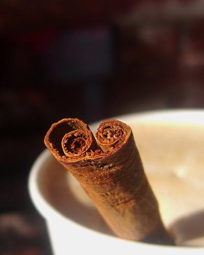 *Cinnamon straw