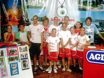 Jugadores y D.T. de la catg. Pre-Infantiles de Centro Recreativo -Campeones Clausura-