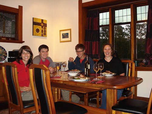 cenando en Welington