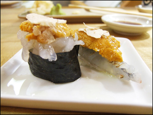 Go's Mart (Canoga Park) - Shrimp sushi with white truffle