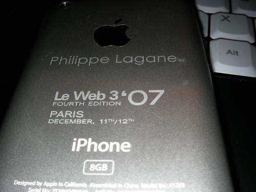 iphone gravé
