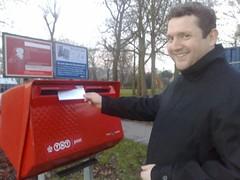 mailing my resignation