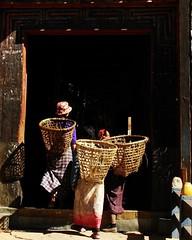 Village Women - Paro
