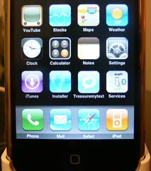 Treasuremytext for iPhone: SpringBoard