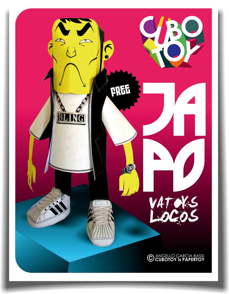 JAPO  free model VATOYS LOCOS