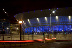 Light Trails and the Liverpool Arena