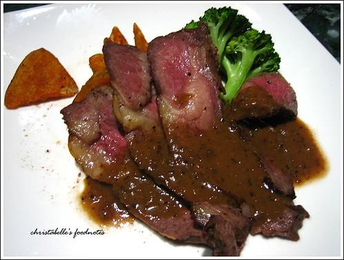 國賓飯店阿眉快餐廳安格斯牛排套餐