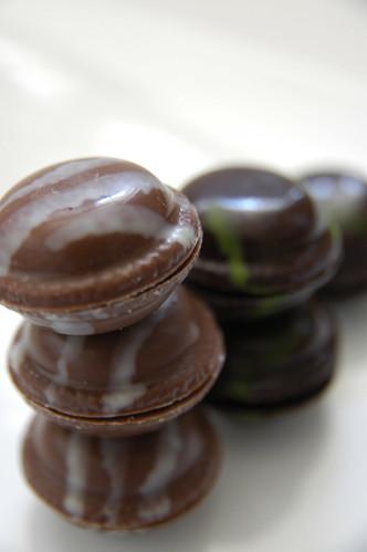 Macaron Chocolat, Jean-Paul Hévin, Salon du Chocolat Tokyo, Shinjuku Isetan