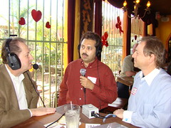 "More Live Talk - Houston Business Show Live Broadcast at ""El Tiempo"" Restaurant (StealthMarketer) Tags: foxnews jennifercolon universityofhouston kevinprice mikealexander jimoneill andyvaladez stevelevine houstonneighborhoods marketingdynamics bauercollegeofbusiness houstonrealestatetoday carolebaker houstonbusinessshow houstonbusiness businessradio robbieadair donaldleonard virginiagrace joestiles johodell"