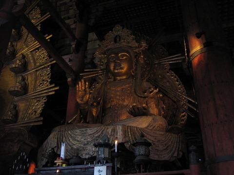 東大寺(大仏殿)-如意輪観音坐像