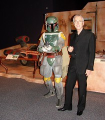 The Franklin, Philly. Star Wars. 501st Legion Member BH-2177 Boba Fett (me) and Anthony Daniels (C-3PO) (Darryl W. Moran Photography) Tags: philadelphia starwars stormtroopers 501st bobafett philly darthvader c3po franklininstitute anthonydaniels carida