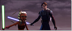 clonewars Ani and Ahsoka