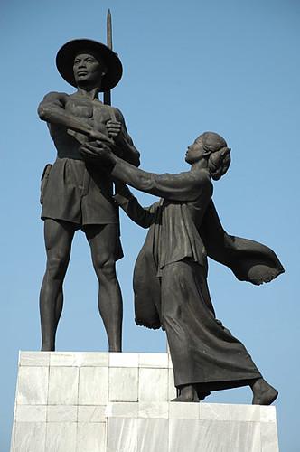 Farmer's Statue in Jakarta