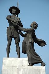 Farmer's Statue, Jakarta (Tempo Dulu) Tags: statue indonesia jakarta tugutani farmersstatue