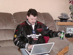High Tech NASCAR viewing and computing