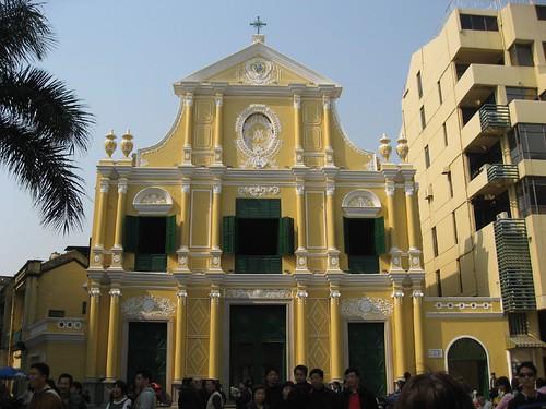 Portugese church facade