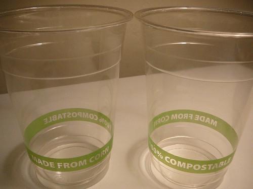 Corn Plastic Cups