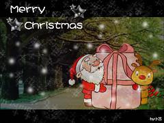 聖誕卡(聖誕老人版)