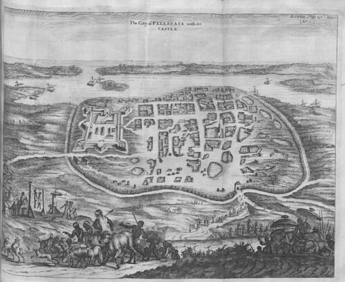 The City of Pellacata with its Castle