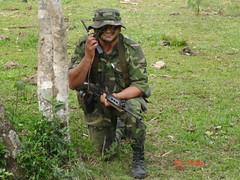 Cazador de monte (Juancho Terleski) Tags: monte misiones ejercito cazador argentino