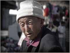 Old man from Kaluk market (Sukanto Debnath) Tags: old portrait india man market sony cap f828 sikkim nepali sikkimese debnath sukanto sukantodebnath kaluk
