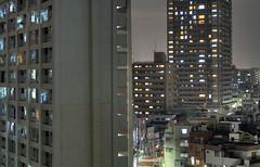 Tokyo 827 (tokyoform) Tags: city windows cidade urban japan skyline architecture night dark 350d japanese tokyo noche asia cityscape skyscrapers nacht ciudad tquio stadt noite  bleak  japo gotham nuit japon ville kota darkcity citt tokio  stadtbild paisajeurbano japn   paisagemurbana     japonya  nhtbn paesaggiourbano paysageurbain jongkind             chrisjongkind  tokyoform darkcityscape