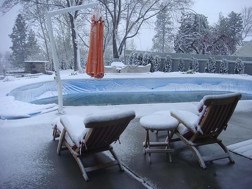 snow-poolside