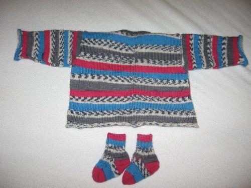 sweater: back