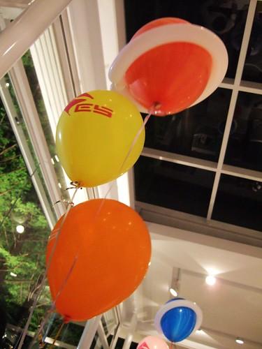 地科院的專屬氣球