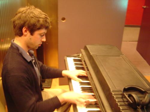 electric piano record