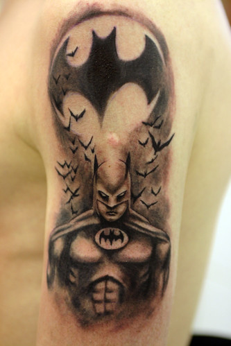 Batman Tattoo by The Tattoo Studio