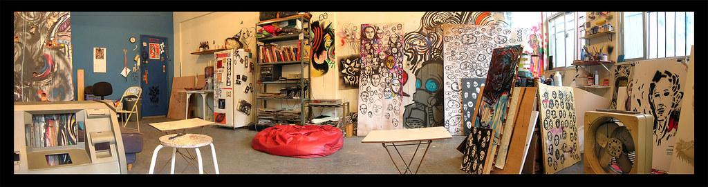 Panorâmica do Atelier 302