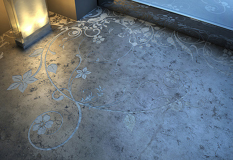 Decorate-Floor-Flower-pattern-images2