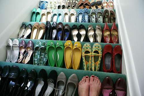 shoe stairway