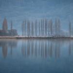 Paysage normand en hiver thumbnail