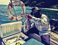 Un'aidintifaid Mit Hanter (DELLipo) Tags: travel sea favorite fish beauty photoshop canon vintage island fishing fisherman explore lumut finest perak hdellr dellipo