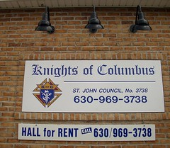 K of C, Westmont, IL (katherine of chicago) Tags: signs knightsofcolumbus kofc westmont