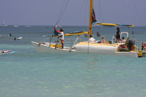 sea sailboat hawaii boat waikiki catamaran honolulu