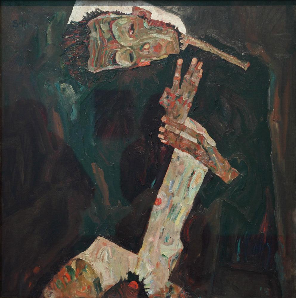 Egon Schiele, Der Lyriker [The Lyricist], 1911