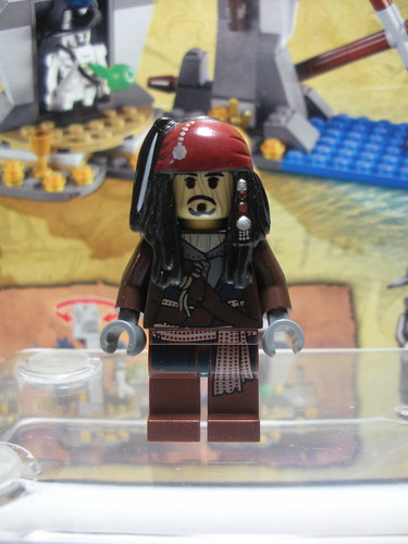 LEGO Pirates of the Caribbean Captain Jack Sparrow Voodoo Doll.