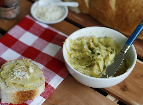 Leek Garlic Spread 3