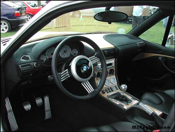 S54B32 M Coupe | Titanium Silver | Black | Hartge Hood | Z8 Steering Wheel