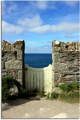 Porthleven (Donna JW) Tags: sea wall clouds gate cornwall coastal porthleven 2011 gamewinner friendlychallenges thechallengefactory gamex2winner herowinner pregamewinner