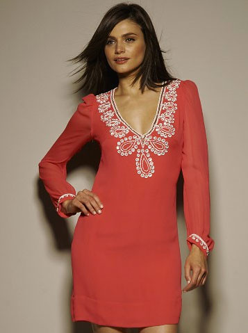 FCUK French Connection Bex Beaded Dress - Very UK