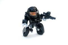 Mini Tread Suit (Cam M.) Tags: cool lego awesome mini racing suit epic challenge mech 2011 hardsuit treads