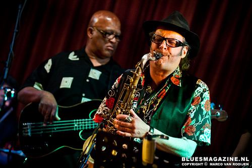 Preston Shannon with Fat Harry and the Fuzzy Licks feat. Henry Oden