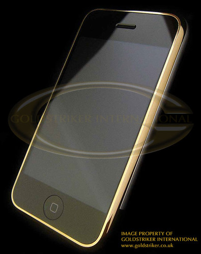gold plated iphone 2
