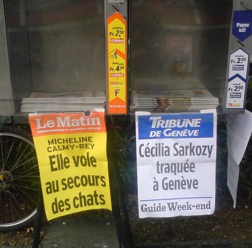 Presse Suisse 10 octobre 2007